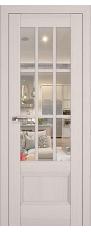 Door 104X Pecan white, transparent