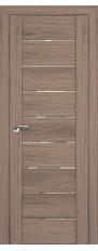 Door 98x Oak salinas dark, transparent